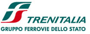The Trenitalia logo - look out for these if you wish to buy a train ticket